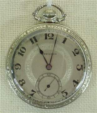 Hamilton Model 912 pocket watch
