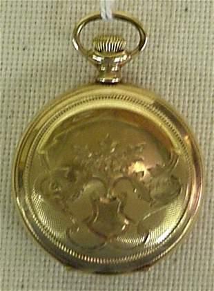 "Elgin ""B.W. Raymond"" railroad pocket watch"