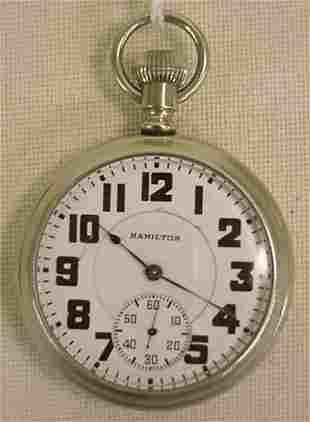 Hamilton model 972 pocket watch