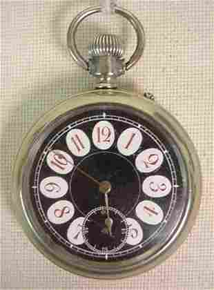 Longines pocket watch, fancy dial