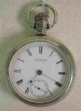 J H Washburn pocket watch