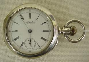 """Waltham """"WS Watch Co"""" pocket watch"""