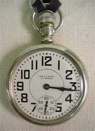 Waltham Model 16A pocket watch