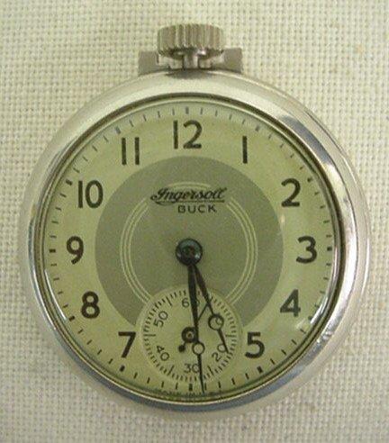 134: Ingersoll Buck pocket watch