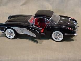 Franklin Mint 1/24 Scale 1958 Chevrolet Corvette