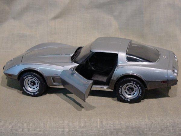 3010: Franklin Mint 1/24 Scale 1978 Chevrolet Corvette