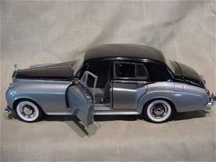 Franklin Mint 1/24 Scale 1955 Rolls Royce Silver