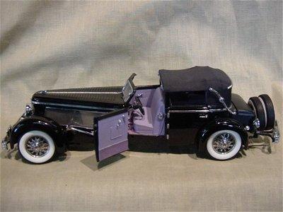 3043: Franklin Mint 1/24 Scale 1940 Duesenberg