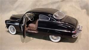 3088: Danbury Mint 1/24 Scale 1949 Mercury Club Coupe -