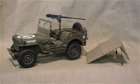 3148: Danbury Mint WWII Jeep Replica