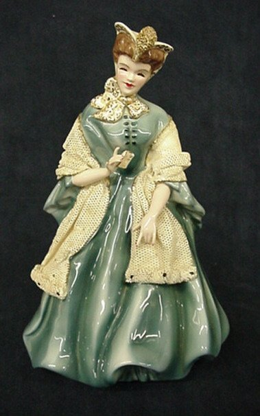 "2001: Florence Ceramics ""Camille"" figurine"