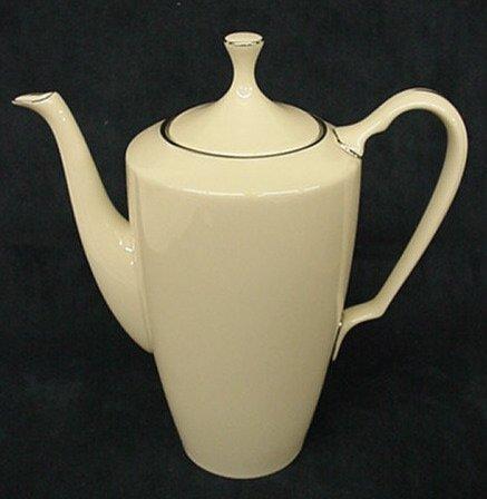 """2009: Lenox """"Montclair"""" coffee pot"""