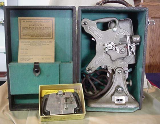 2098: Keystone Model A-82 16mm Projector