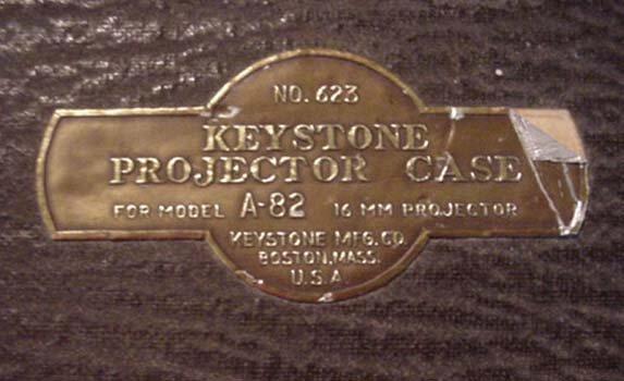 2098: Keystone Model A-82 16mm Projector - 2