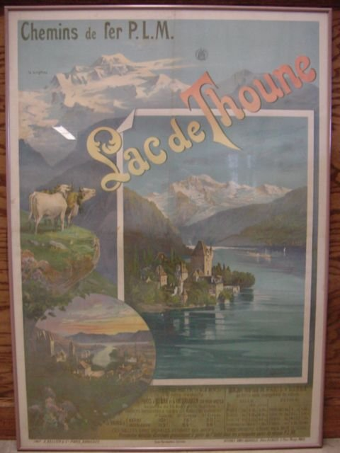 2119: French Travel - Swiss Scene Poster
