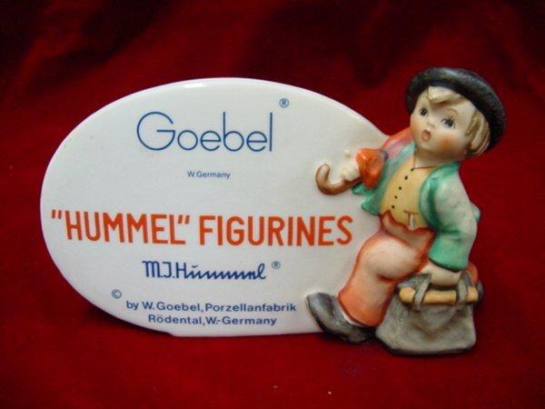5201: Hummel store plaque
