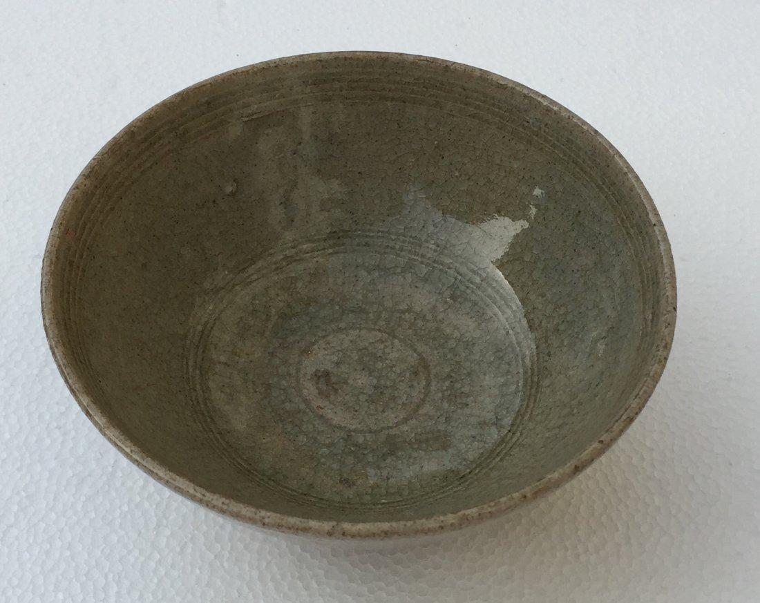 Chinese green porcelain bowl