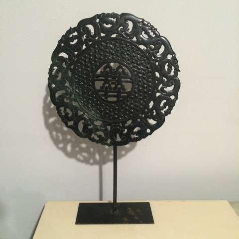 Chinese circular sculpture