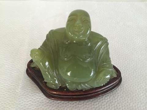 Chinese Buddha jade sculpture