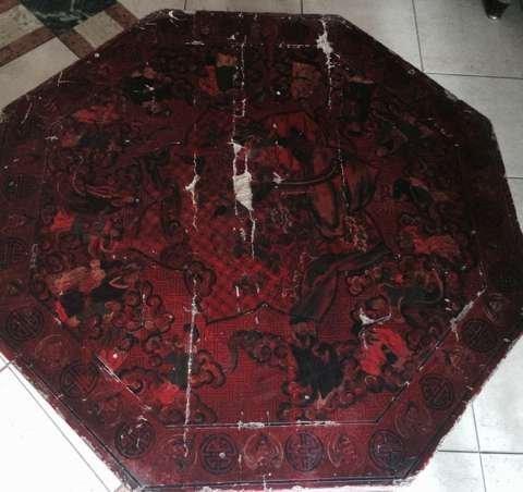 Hexagonal Chinese table