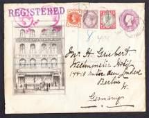 Stamp Dealer Advertising: 1895 Hugo Griebert & Co.