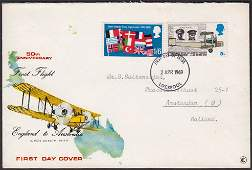 Missing Colours On First Day Covers - 1969