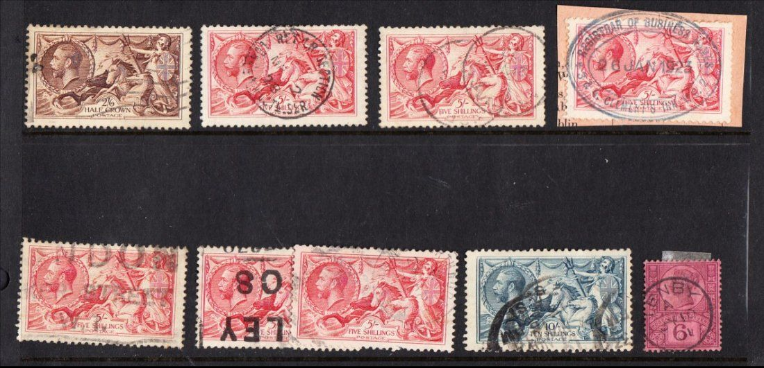 STAMPS : G B COLLECTIONS AND MIXED LOTS