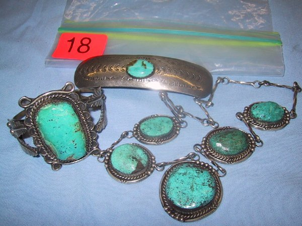 18: Turquoise and Silver