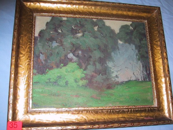 35: Framed original J. Mannheim