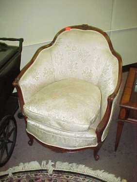 225: Antique couch and chair