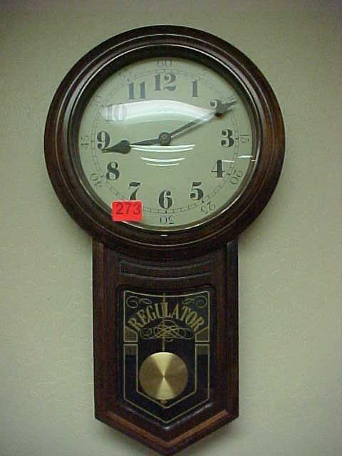 273: Elgin regulator clock