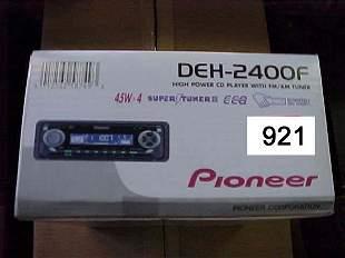 Pioneer Car CD Player DEH2400F