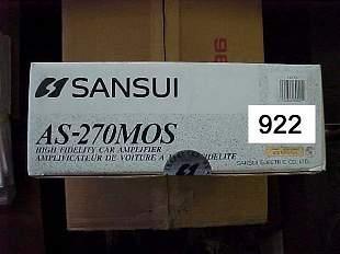 Sansui CAr AS-270MOS High Current 70Watt