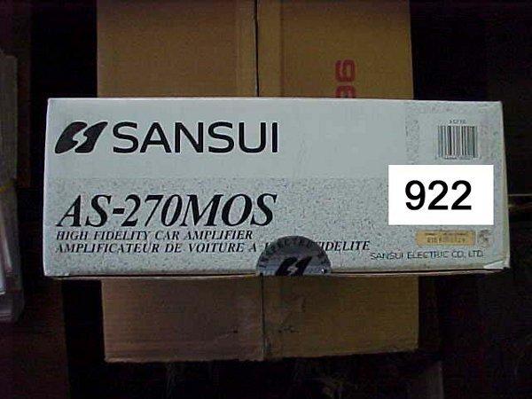 922: Sansui CAr AS-270MOS High Current 70Watt