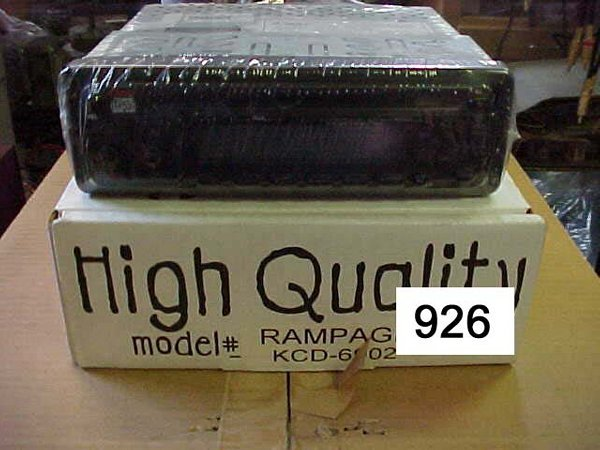 926: Rampage KCD-6902, Car CD Player