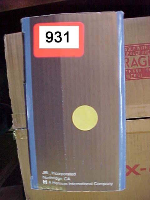 931: JBL Car Amp GTS50 50 Watt