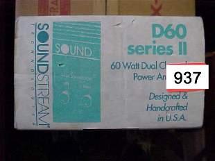 Soundstream D60 series 2 60 Watt Power A