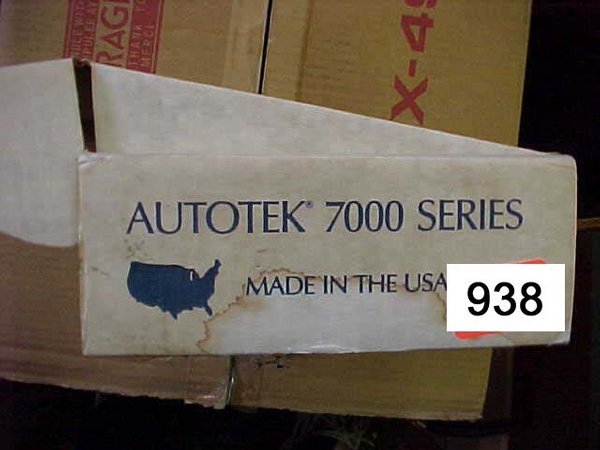 938: Autotek 7004P 4 Band Preamp Equilizer