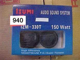 IZUMI Super Tweeter, IZM330T 150 Watt