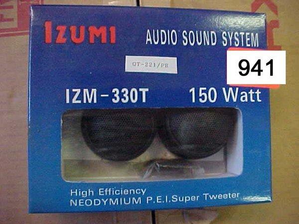 941: IZUMI Super Tweeter, IZM330T 150 Watt