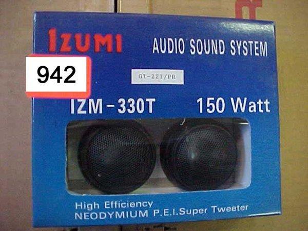 942: IZUMI Super Tweeter, IZM330T 150 Watt