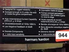 944: Harman/Kardon CA205 High Current Car Amp