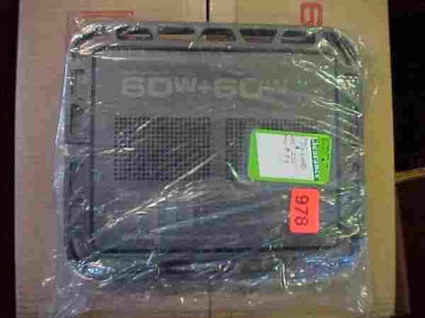Pioneer GM-123 Car Amp 120 Watts