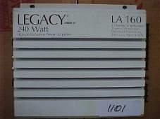 1101: Legacy LA160 240 watt car amp. 4 channe