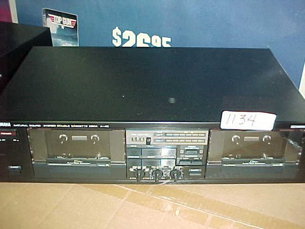 1134: Yamaha K40 Stereo dubbing deck