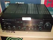 1161: Yamaha A-720 Intergrated amp. 105 Watt