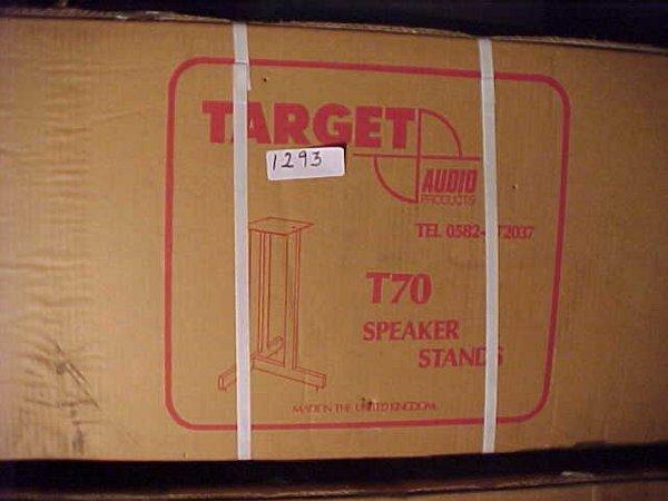 1293: Pair of Target T70 metal speaker stands
