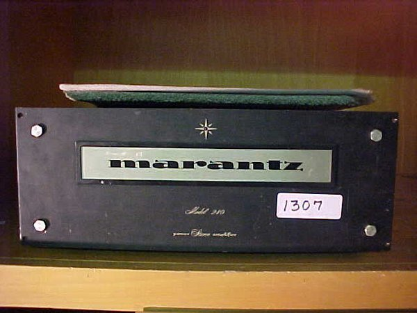 1307: Marantz model 240, 240 watt RMS power a