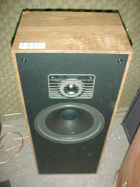 "1415: Pair of Mirage 550, 10"" two-way speaker"