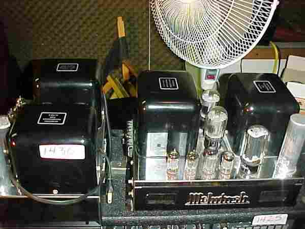 1 Pair McIntosh MC30, 30 watt tube powe
